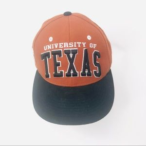 Texas Longhorns Men's Orange Black SnapBack Hat